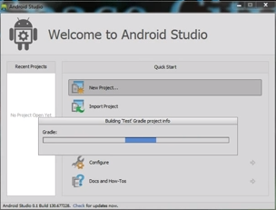 config android studio
