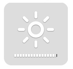 how to adjust brightness of desktop