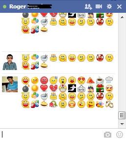 Facebook Chat Emotions Code