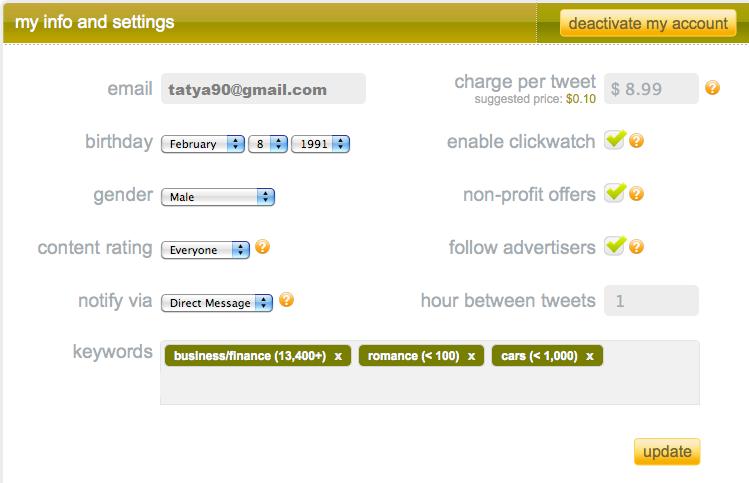 How to make money using Twitter