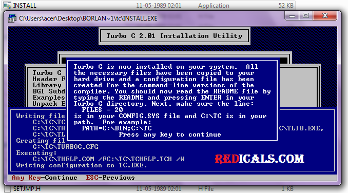 download turbo c for windows 7