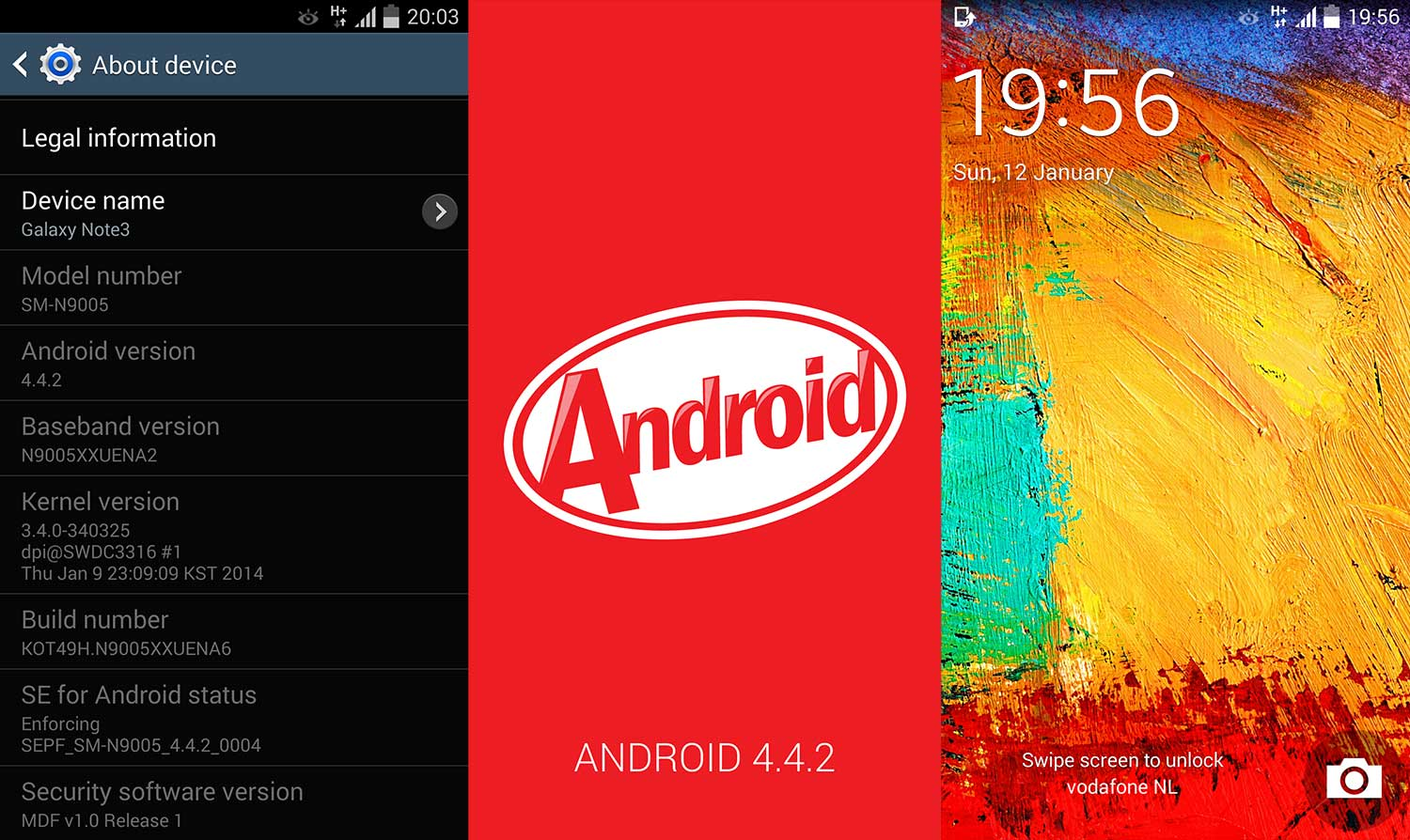 Android 4.4 Kitkat Custom ROM for Galaxy Y S5360