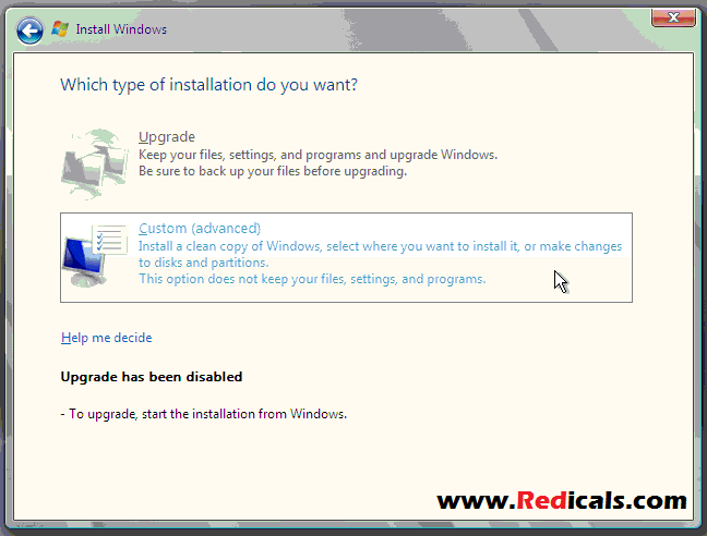 install Windows Server 2008