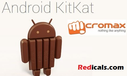 Micromax Canvas Update Android 4.4 KitKat