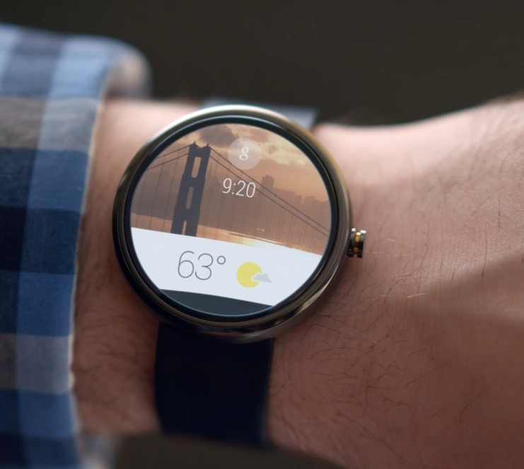 Moto 360 Android-Based Watch