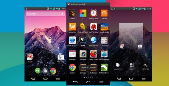 Android Kitkat 4.4 theme