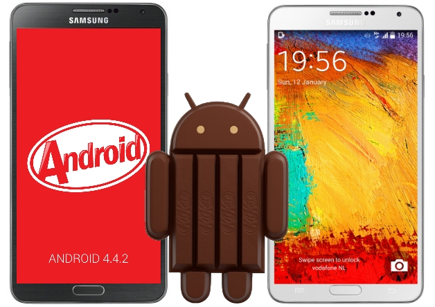 Android Kitkat Update For Galaxy Note 2