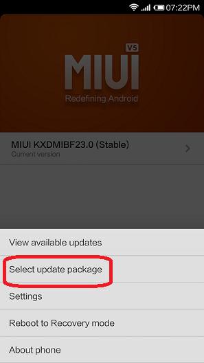 MIUI 6 ROM on Xiaomi
