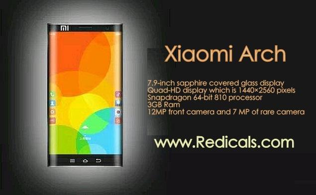 xiaomi  arch smartphone
