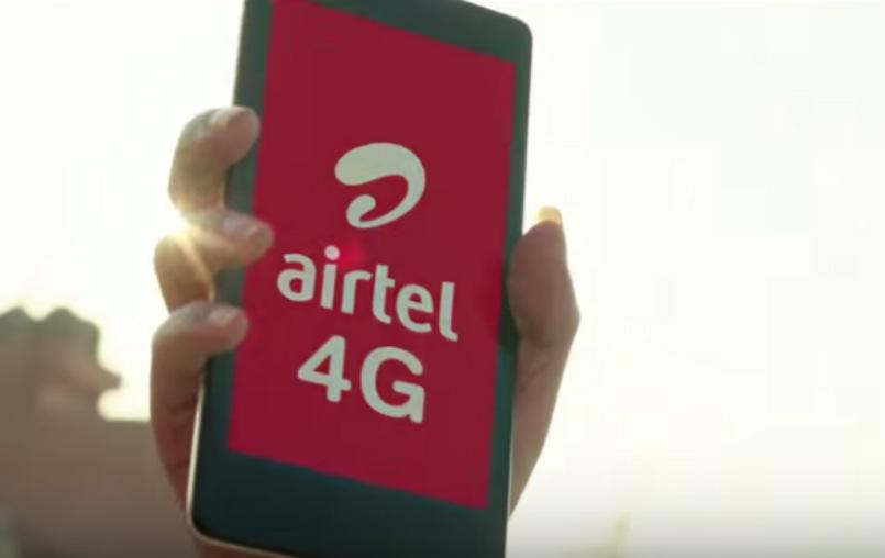 Airtel free  4G