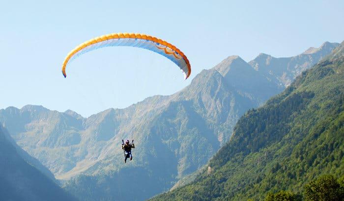 Airborne Paragliding in Shimla