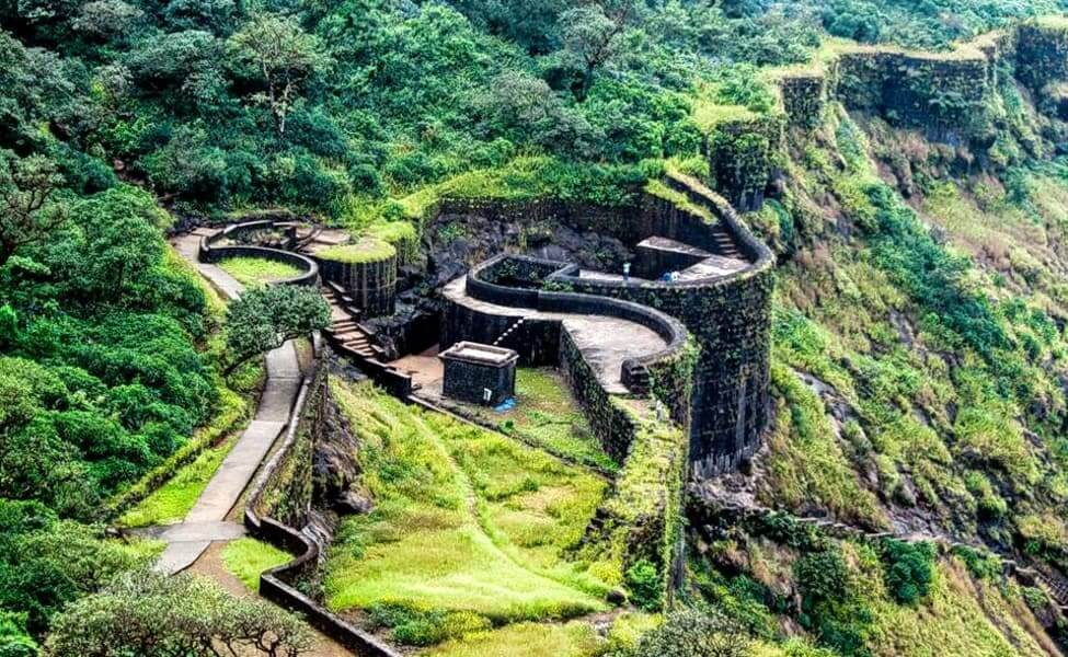 Rajgad fort pune