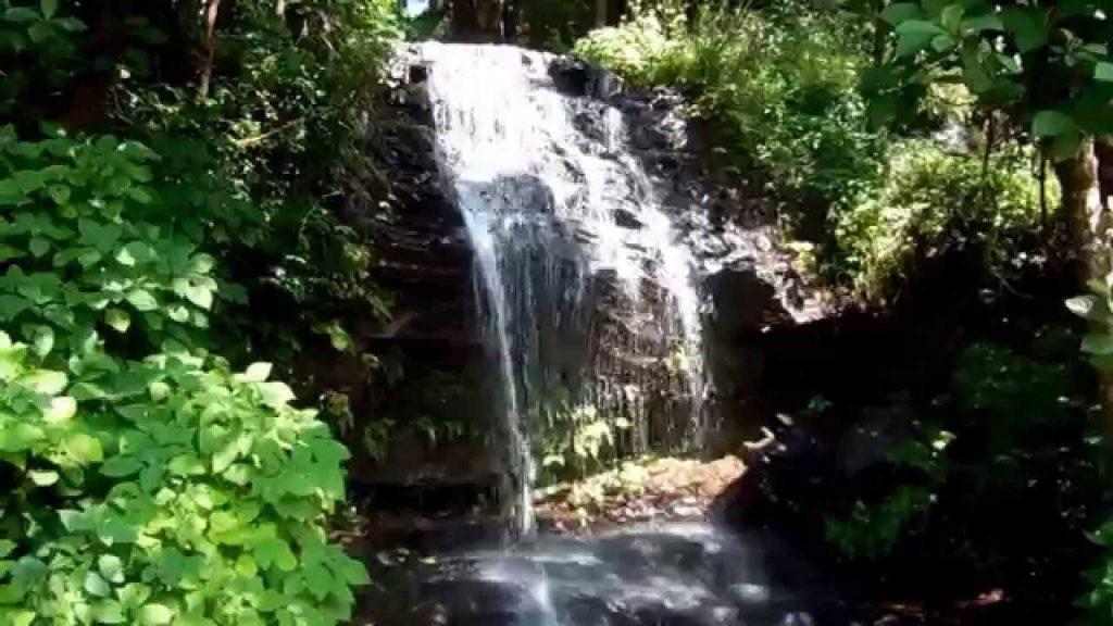 Shanti falls Chikmagalur