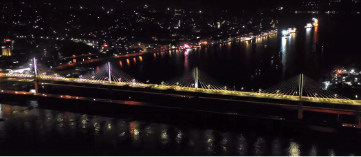 Goa Mandovi bridge