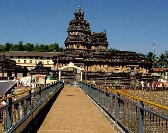 vidyasankara temple chikmagalur